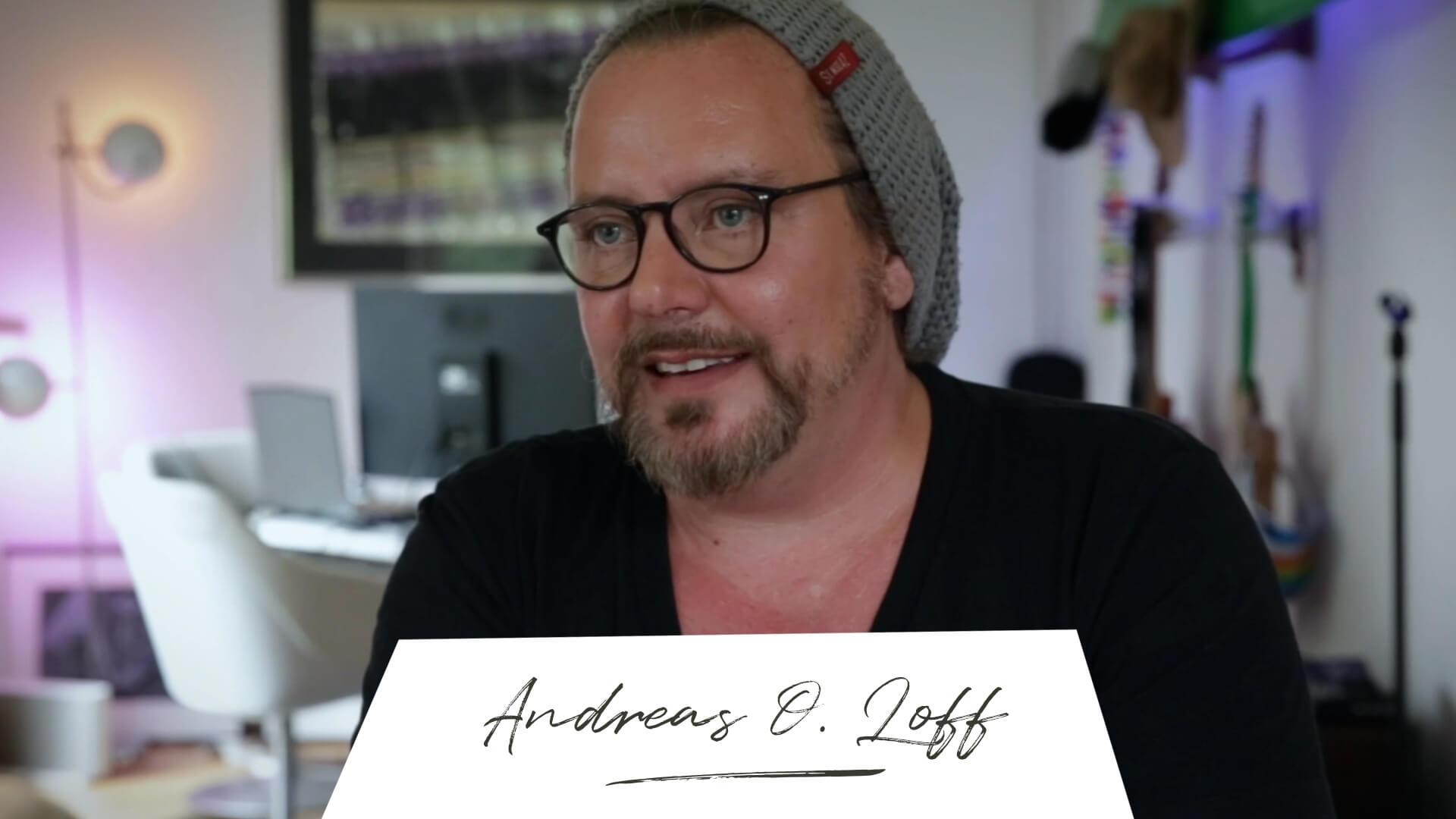 Where is now? Andreas O. Loff Wegbegleiter