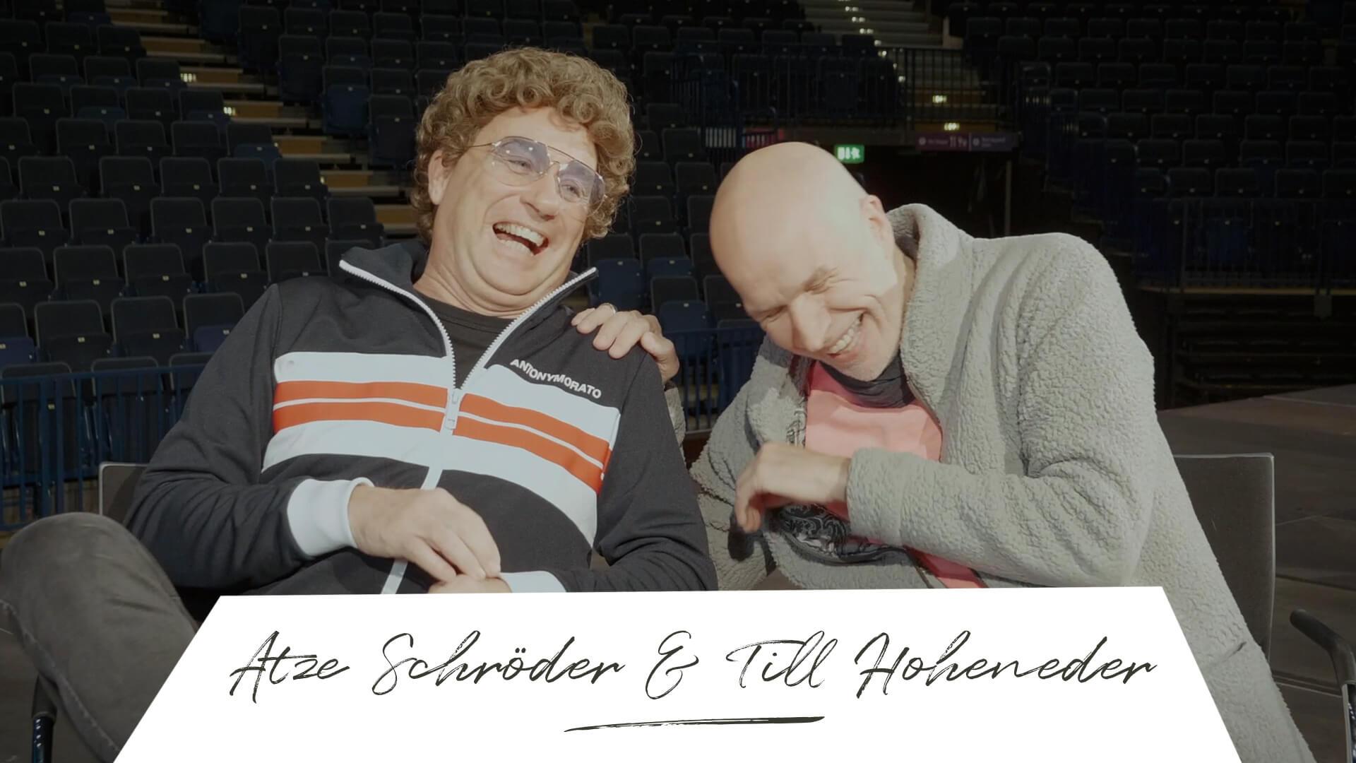 Where is now? Atze Schröder & Till Hoheneder Wegbegleiter