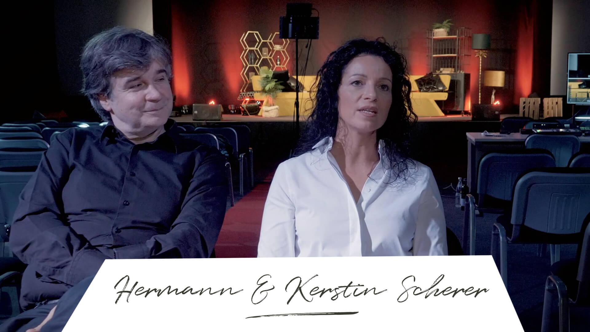 Where is now? Hermann & Kerstin Scherer Wegbegleiter
