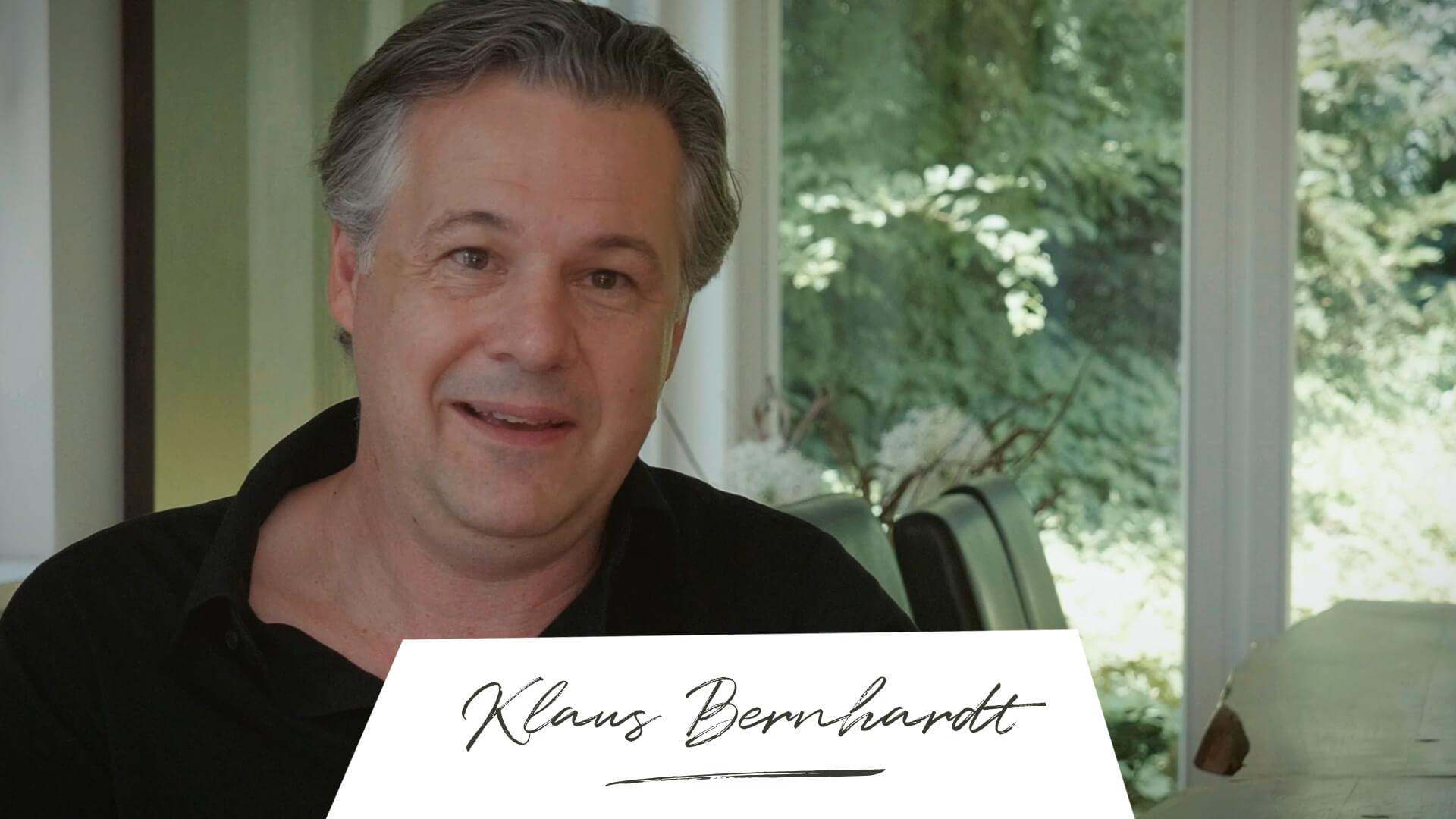 Where is now? Klaus Bernhardt Wegbegleiter