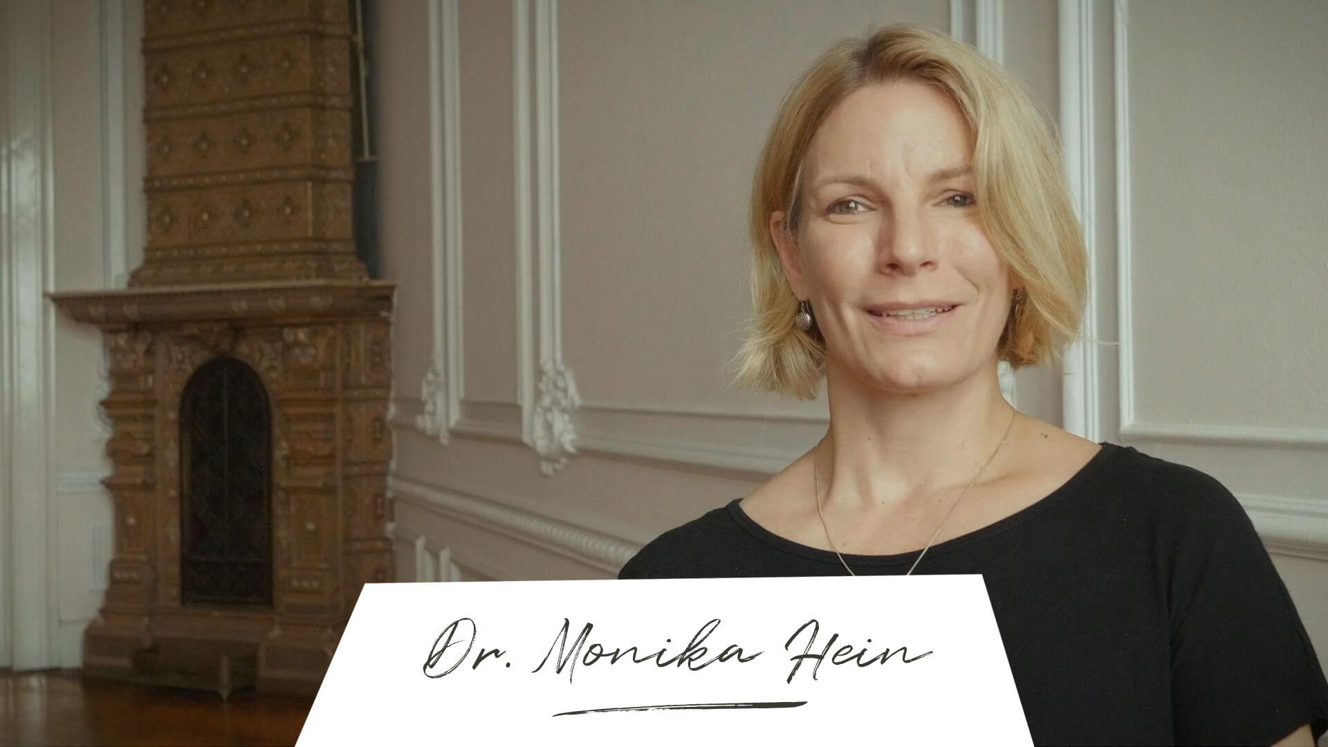 Where is now? Dr. Monika Hein Wegbegleiter