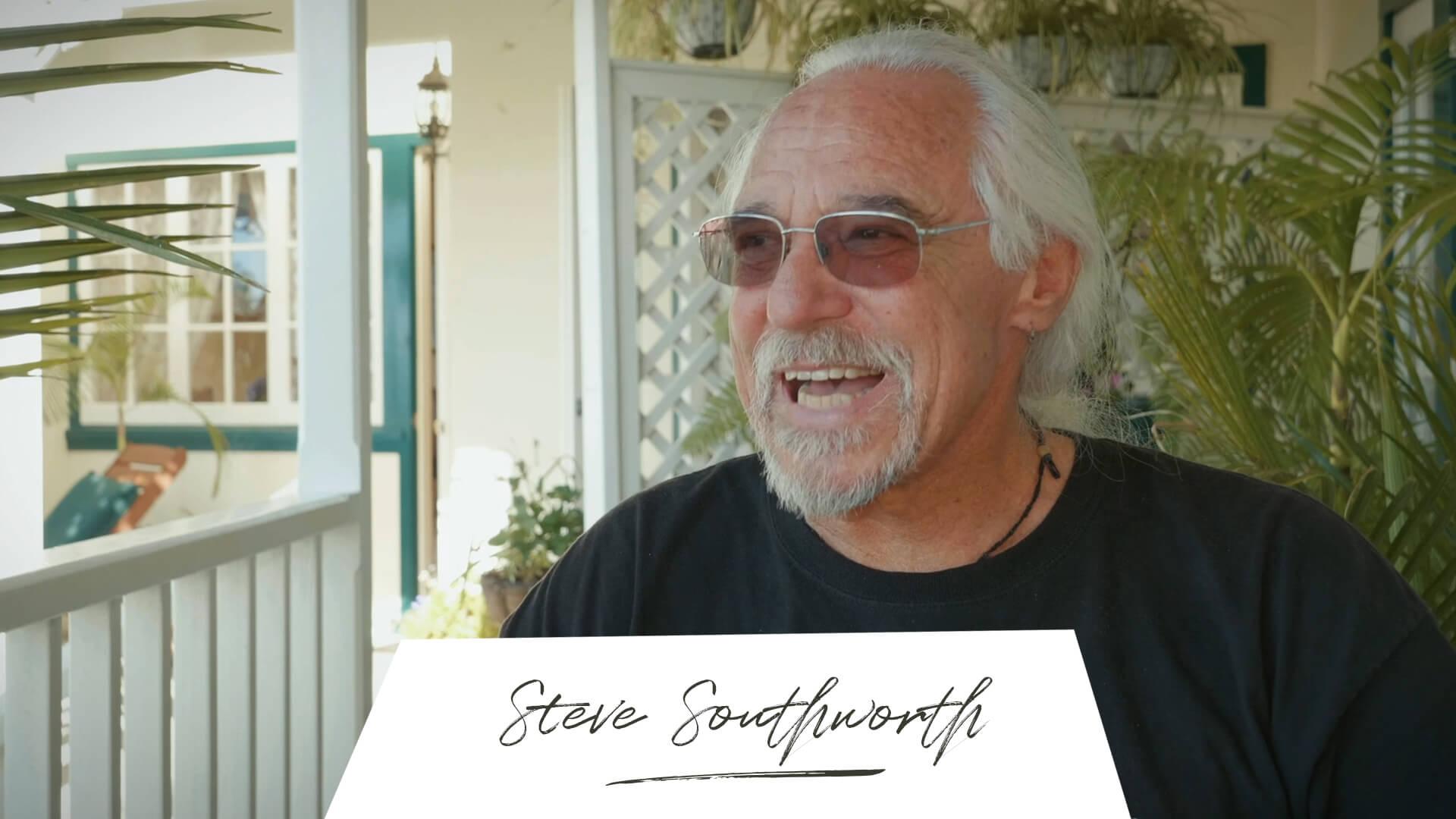 Where is now? Steve Southworth Wegbegleiter